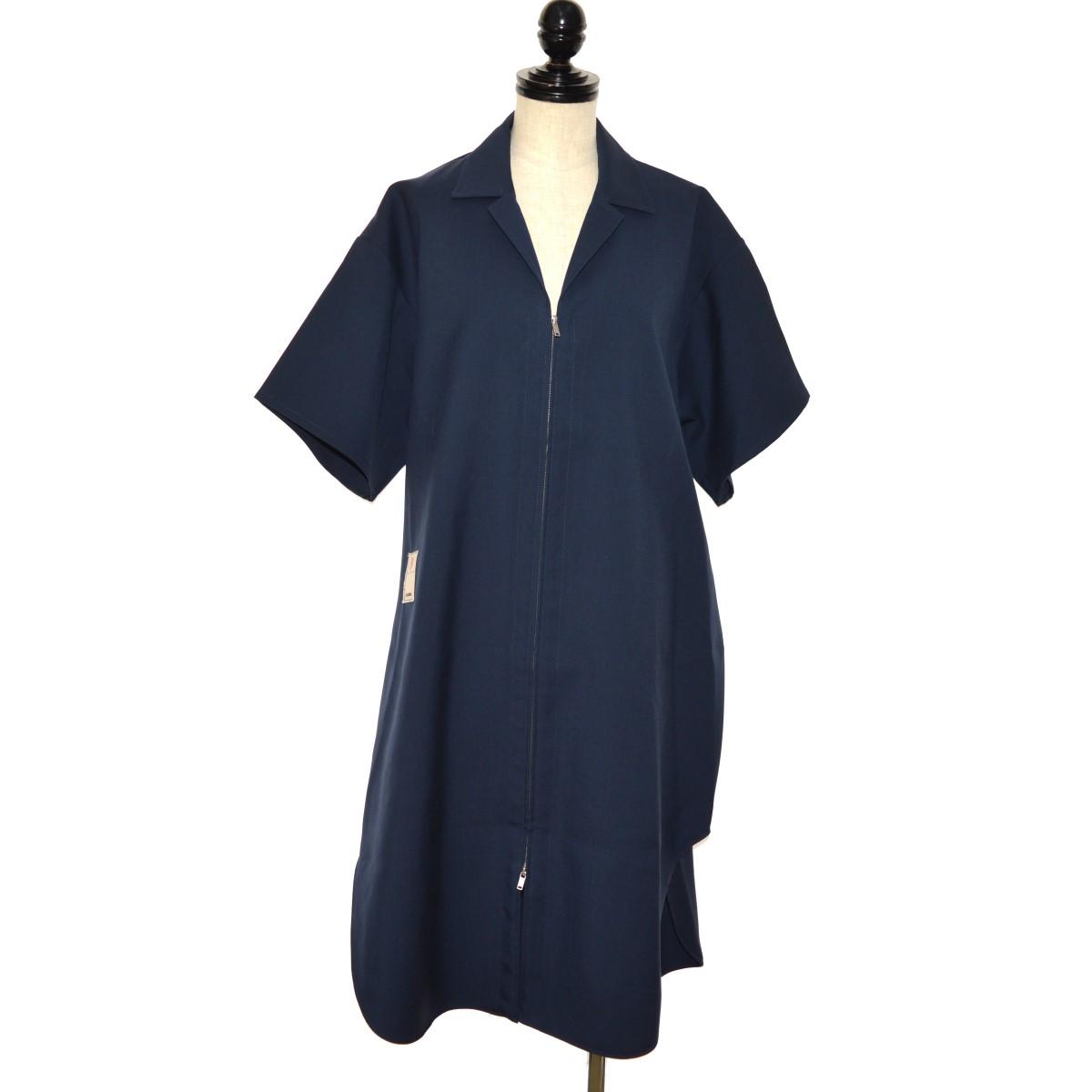 【中古】JIL SANDER 19SS OVERSIZED SHIRT DRESS オーバーサイズシャツドレス ネイビー サイズ:32 【070320】(ジルサンダー)