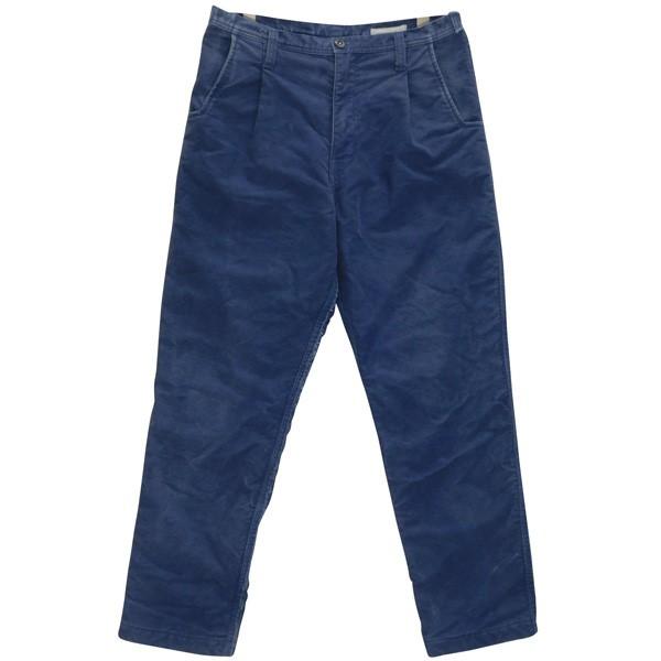 【中古】Porter Classic MOLESKIN PANTS モールスキンパンツ インディゴ サイズ:S 【060320】(ポータークラシック)