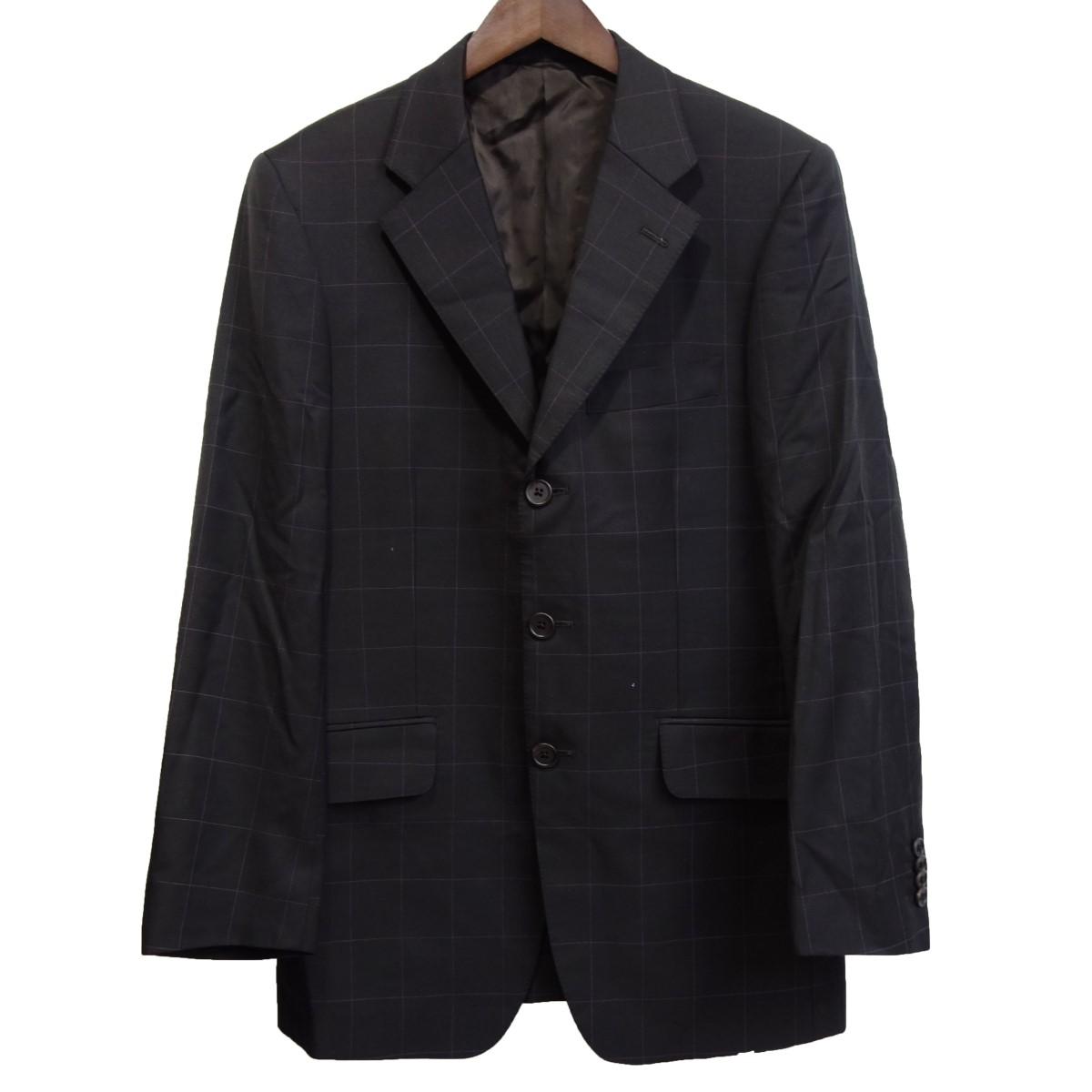 【中古】Paul Smith LONDON 「FRATELL TALLIADI DELFINO」 テーラードジャケット ブラック サイズ:S 【070320】(ポールスミス)