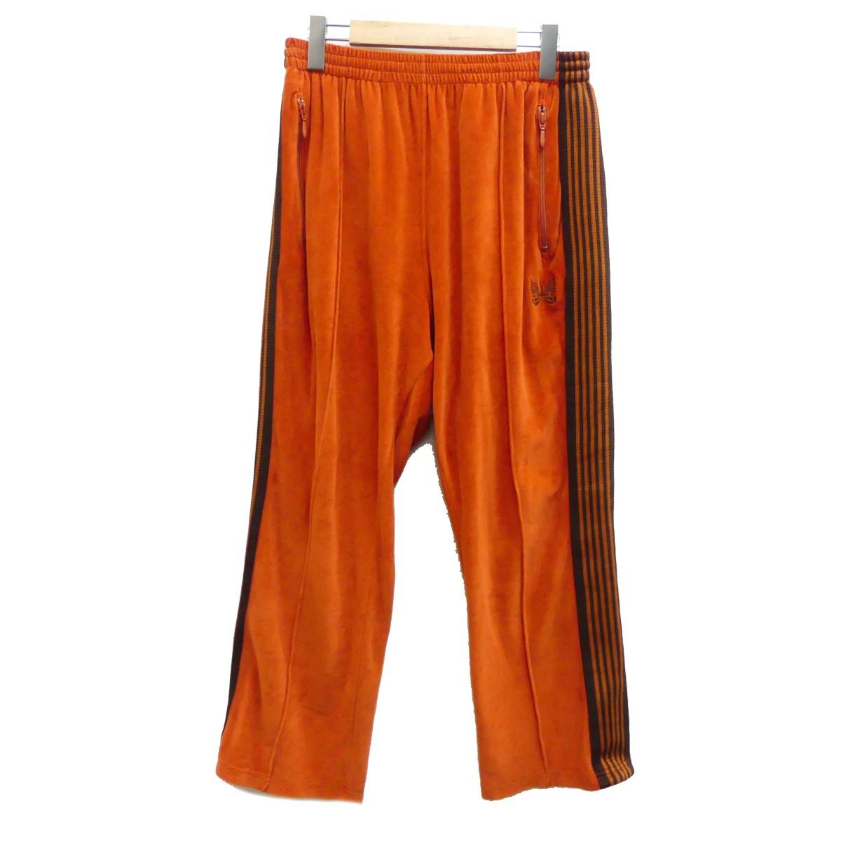 【中古】Needles 19SS Narrow Track Pant ナロートラックパンツ オレンジ サイズ:M 【080320】(ニードルス)