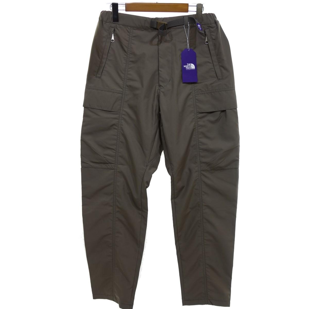 【中古】THE NORTH FACE PURPLE LABEL High Multi Polyester Twill Field Pants パンツ カーキ サイズ:30 【080320】(ザノースフェイス パープルレーベル)