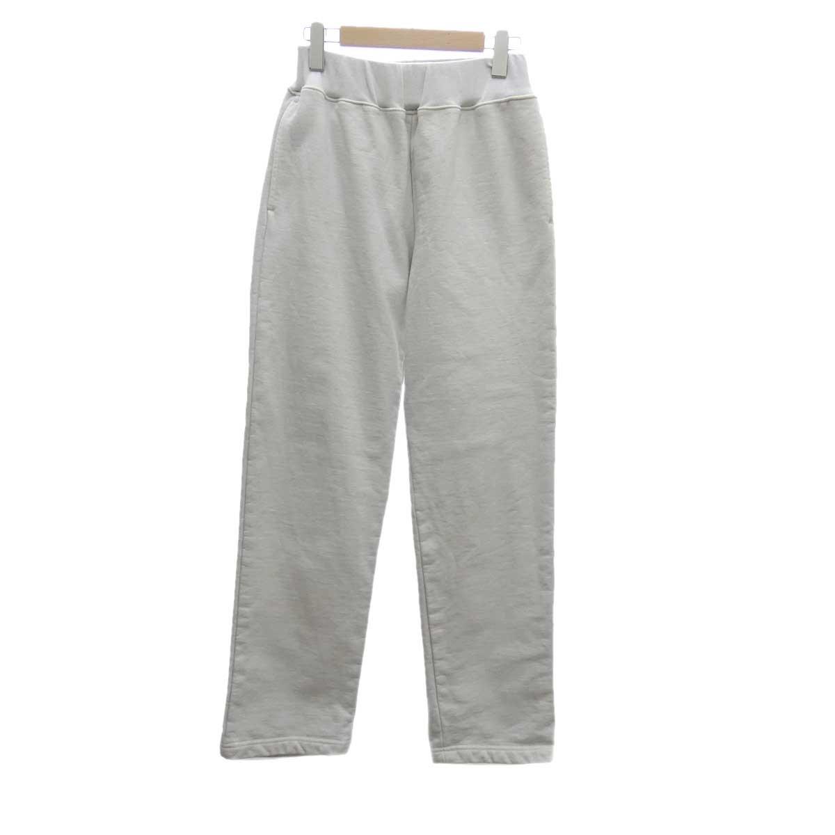 【中古】AURALEE SUPER MILLED SWEAT EASY PANTS オフホワイト サイズ:1 【080320】(オーラリー)