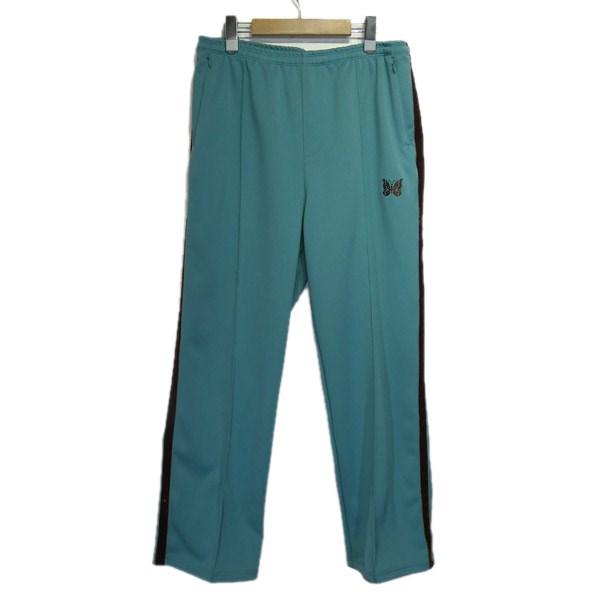 【中古】Needles 「Side Line Center Seam Pant Poly Smooth」トラックパンツ ライトブルー サイズ:S 【080320】(ニードルス)