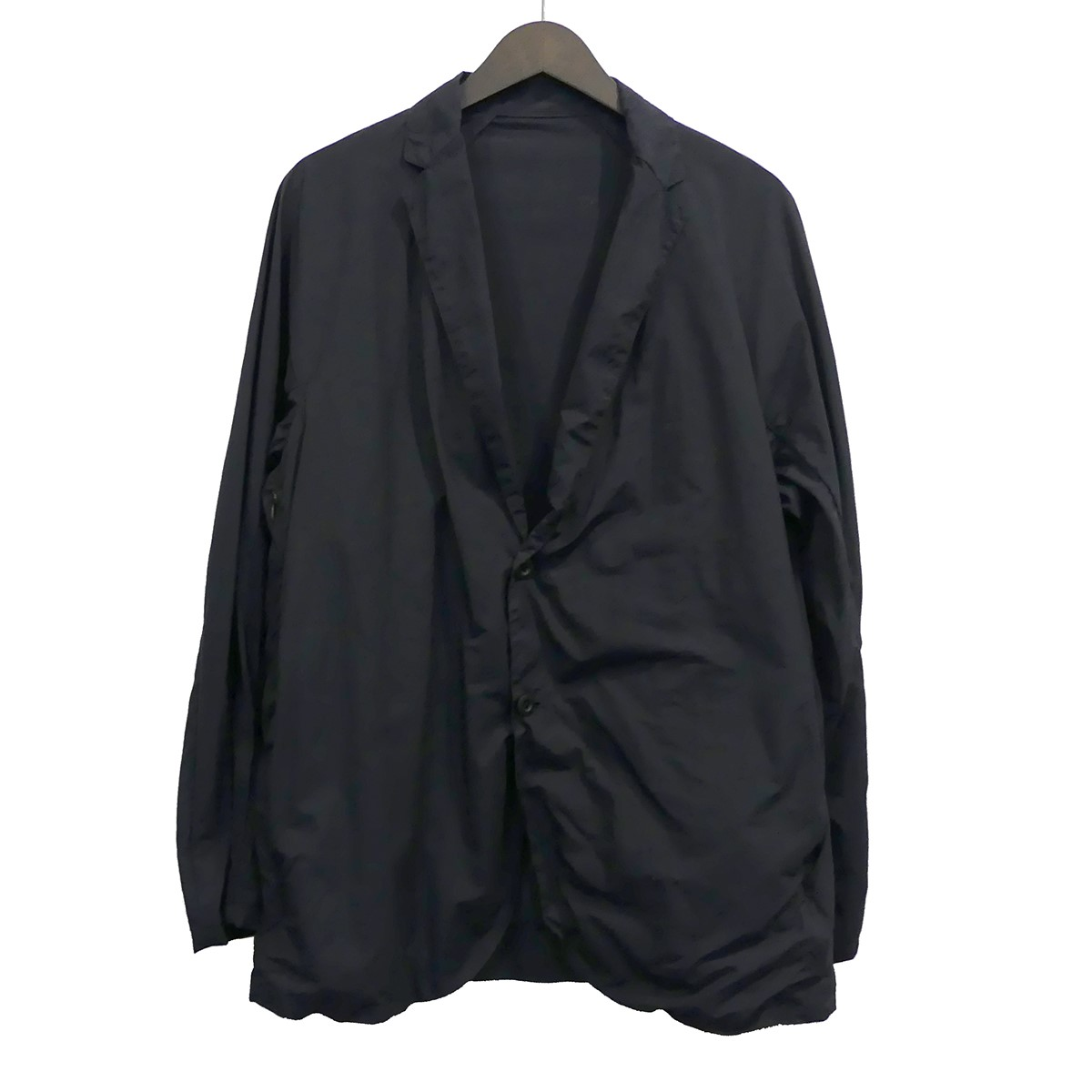 【中古】TEATORAWallet JACKET Packable ウォレットジャケット パッカブル ネイビー サイズ:48 【4月23日見直し】