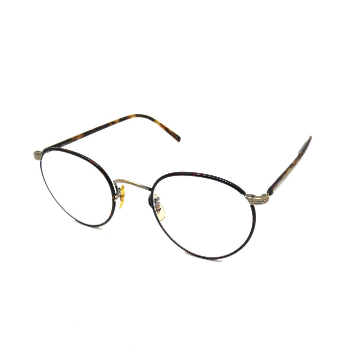 【中古】OLIVER PEOPLES OP-78R メガネ ブラウン サイズ:47□22 143 【090320】(オリバーピープルズ)