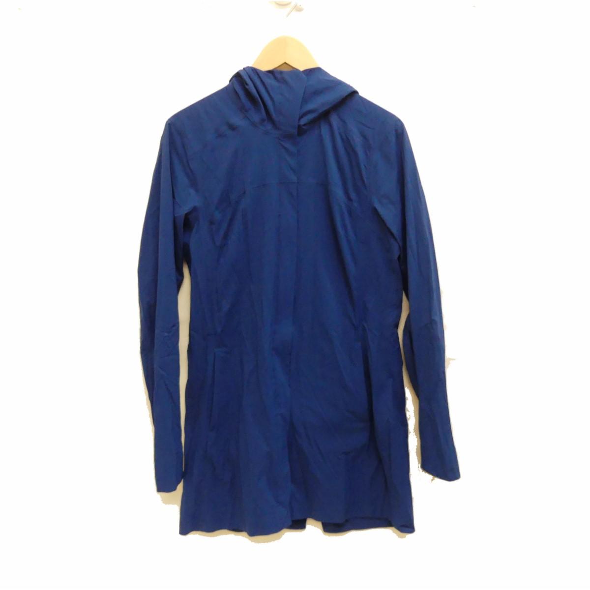 【中古】ARCTERYXウインドブレーカージャケット ブルー サイズ:0 【5月14日見直し】