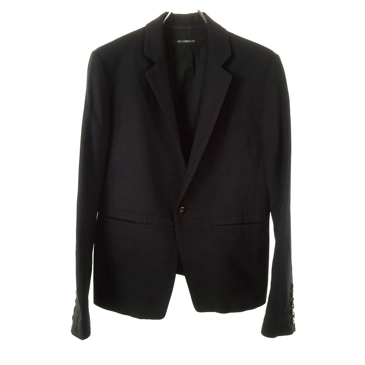 【中古】DRESSEDUNDRESSED テーラードジャケット ブラック サイズ:3 【110320】(ドレスドアンドレスド)