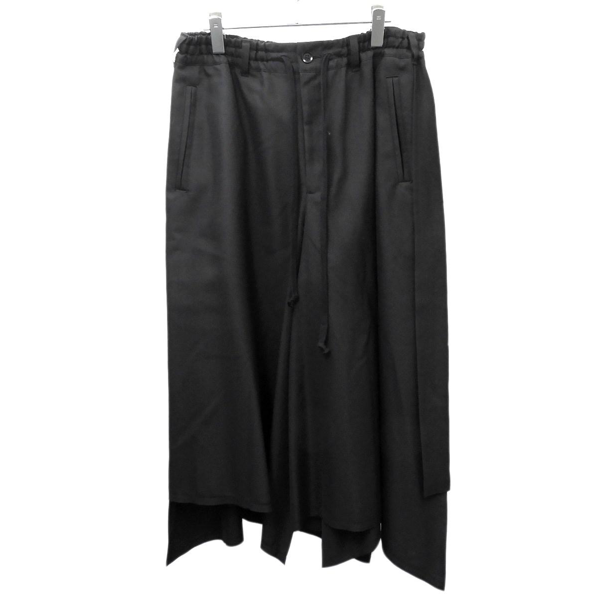 【中古】Ground Y スカートパンツ ブラック サイズ:3 【120320】(グラウンドワイ)