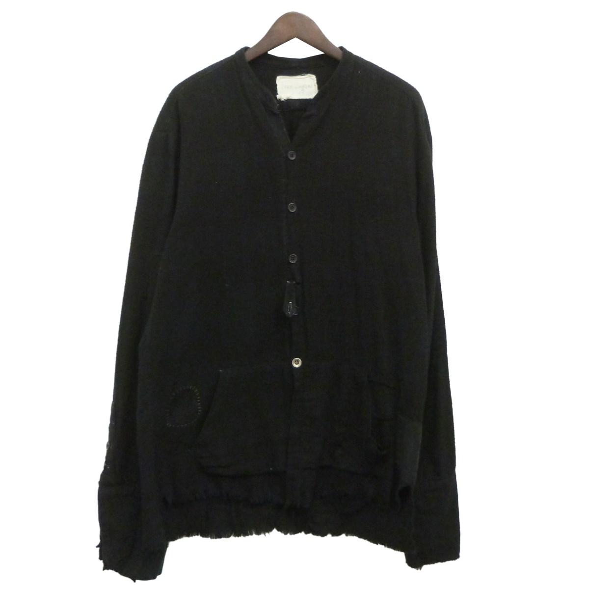 【中古】GREG LAUREN 「50/50 FLANNEL STUDIO SHIRT」フランネルスタジオシャツ ブラック サイズ:- 【120320】(グレッグローレン)