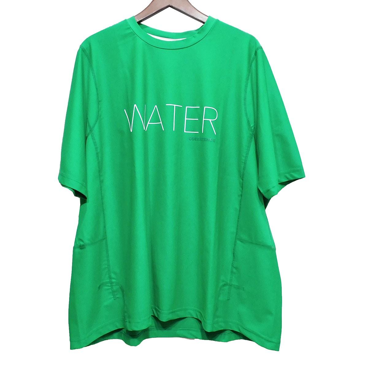 【中古】FUMITO GANRYU WATERプリントTシャツ グリーン サイズ:2 【130320】(フミト ガンリュウ)