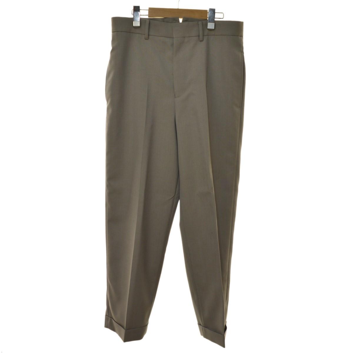 【中古】beautiful people 19AW mat wosted chambray work pants ワークパンツ グレー サイズ:42 【140320】(ビューティフルピープル)