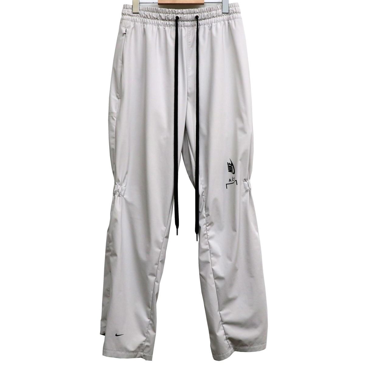【中古】A-COLD-WALL×NIKE 18AW Edition NRG Lounge Pantsトラックパンツ グレー サイズ:M(~100cm) 【130320】(ア コールド ウォール ナイキ)