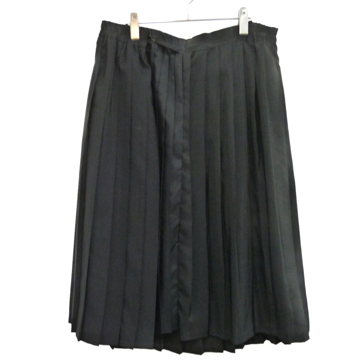 【中古】MARTIN MARGIELA 0 アーティザナルプリーツスカート ブラック サイズ:S 【140320】(マルタンマルジェラ0)