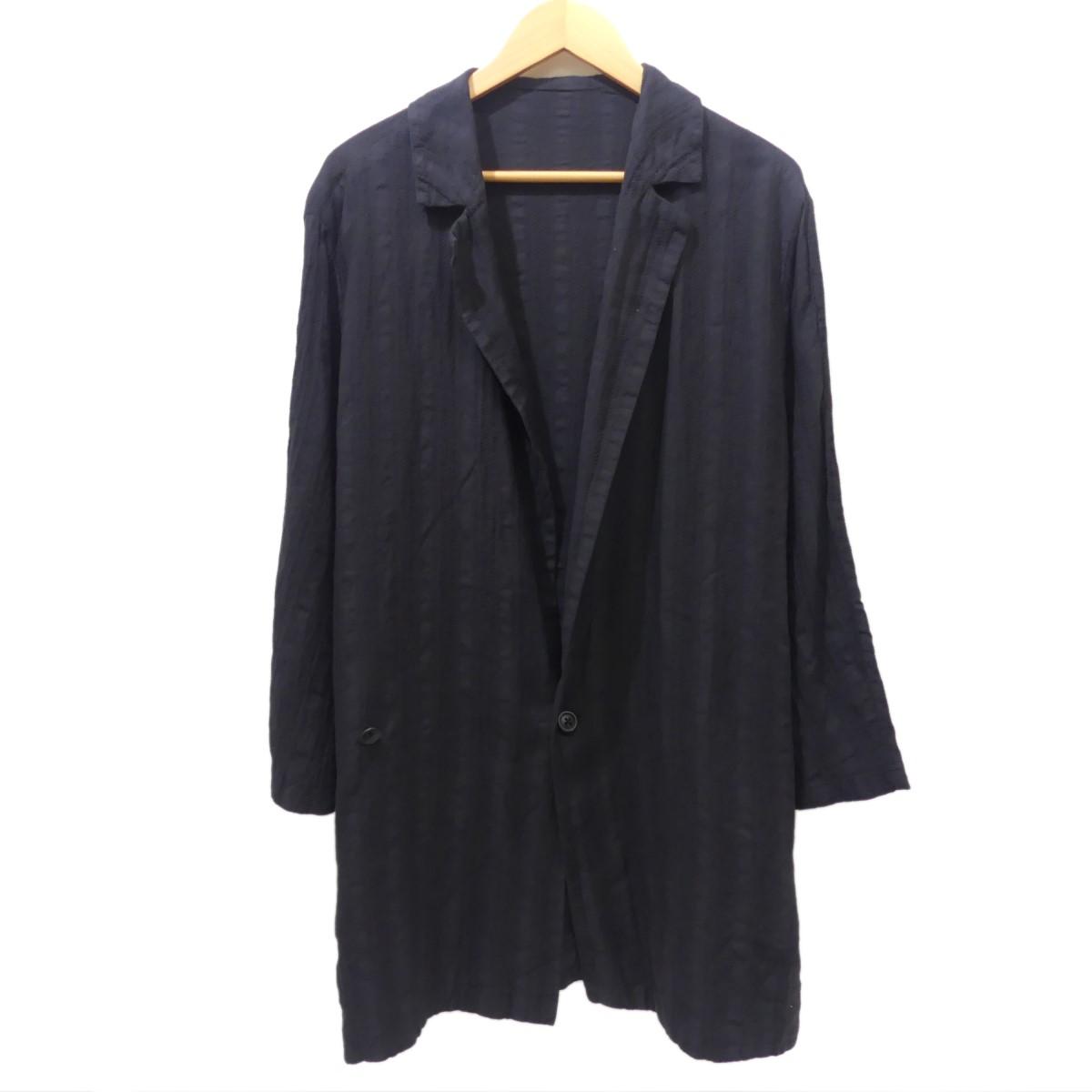 【中古】GEOFFREY B SMALLシャツジャケット ブラック サイズ:S/M 【8月17日見直し】
