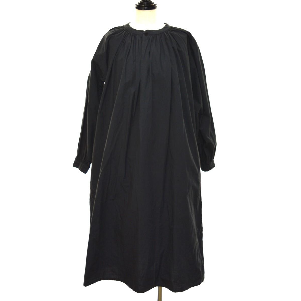 【中古】YAECA シャツワンピース ブラック サイズ:S 【160320】(ヤエカ)