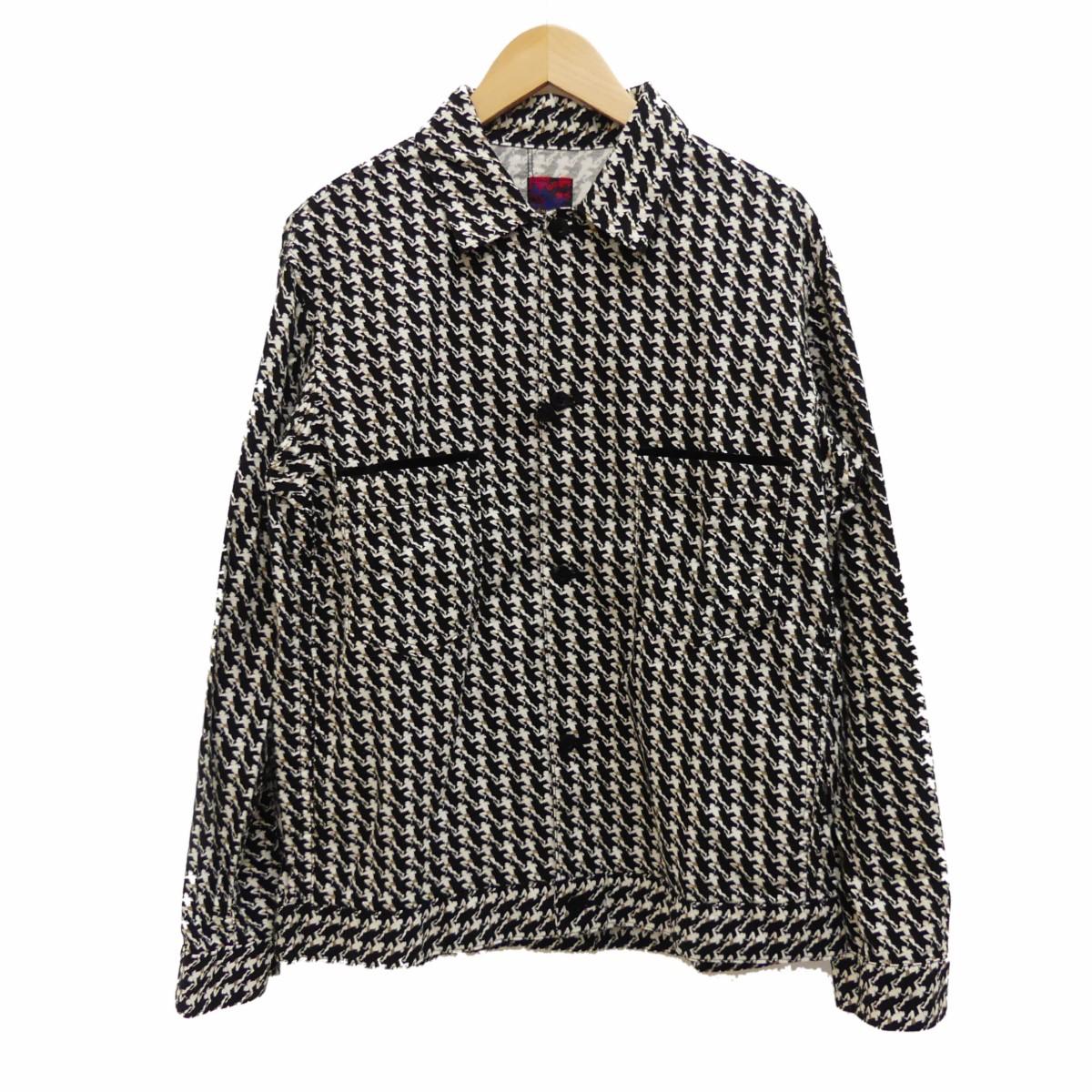 【中古】BRU NA BOINNE 18AW タージャンシャツ ブラック サイズ:1 【160320】(ブルーナボイン)