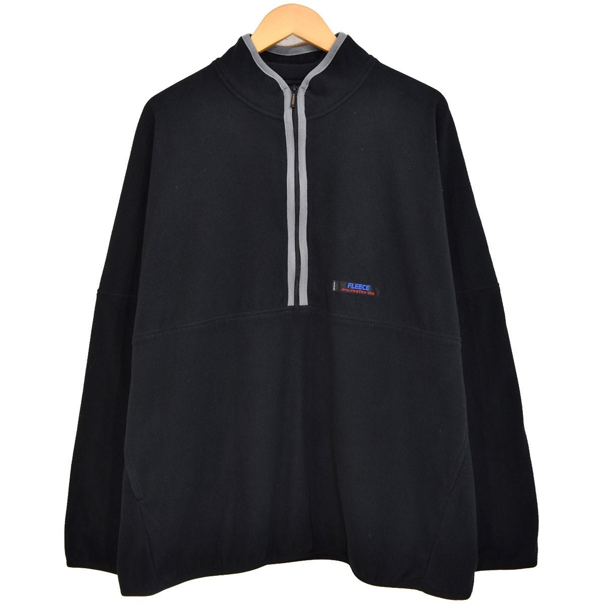 【中古】DAIRIKU Dolman-Sleeve Fleece Sweater ハーフジップフリースプルオーバー ブラック サイズ:ONE SIZE 【170320】(ダイリク)