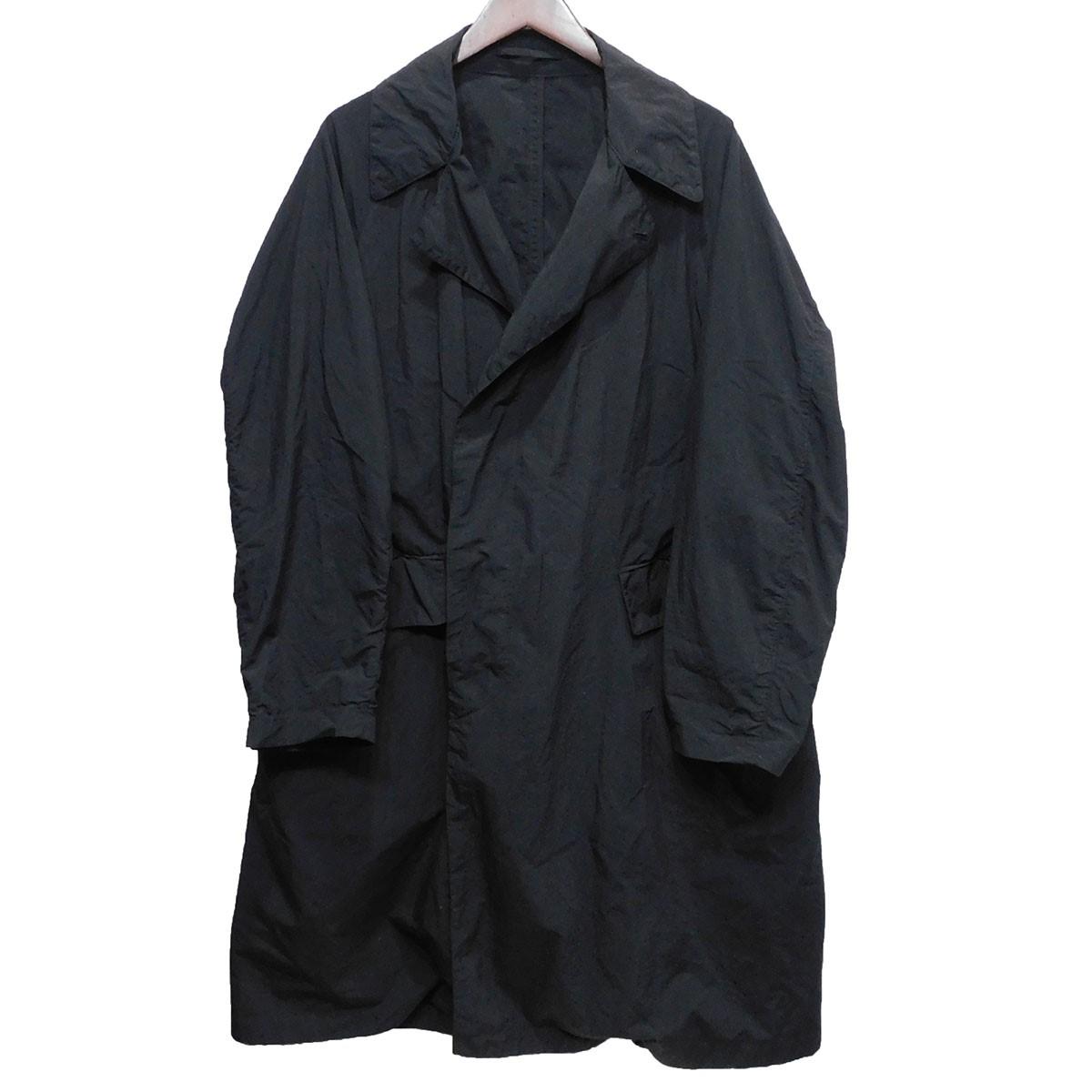 【中古】TEATORA「Device Coat P」 デバイスパッカブルコート ブラック サイズ:46 【5月11日見直し】