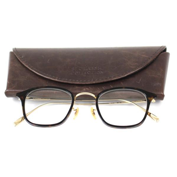 【中古】BJ Classic Collection PREMIUM PREM-123CW NT 49□23-152 眼鏡フレーム 伊達メガネ ブラウン、ゴールド サイズ:- 【180320】(BJクラシックコレクション)