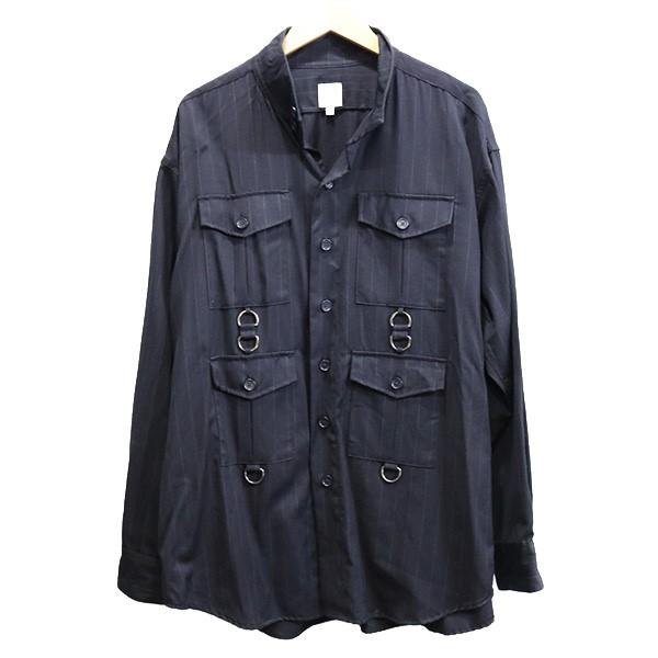 【中古】AiE SCD Shirt シャツジャケット ダークネイビー サイズ:M 【180320】(エーアイイー)