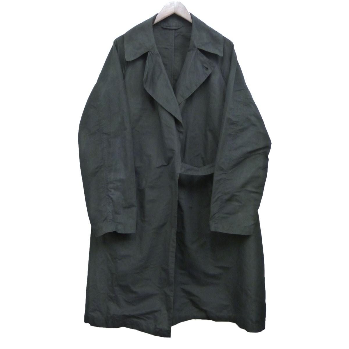 【中古】COMOLI 17AWタイロッケンコート ブラック サイズ:2 【200320】(コモリ)