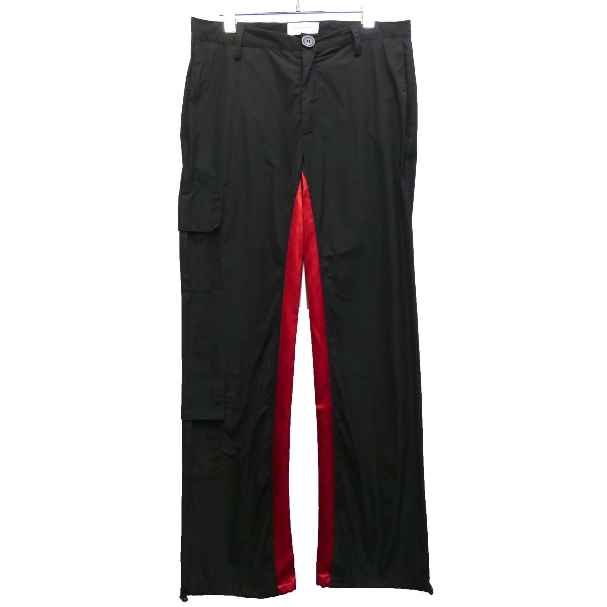 【中古】WALES BONNER 19SS カーゴパンツ ブラック サイズ:46 【200320】(ウェールズボナー)