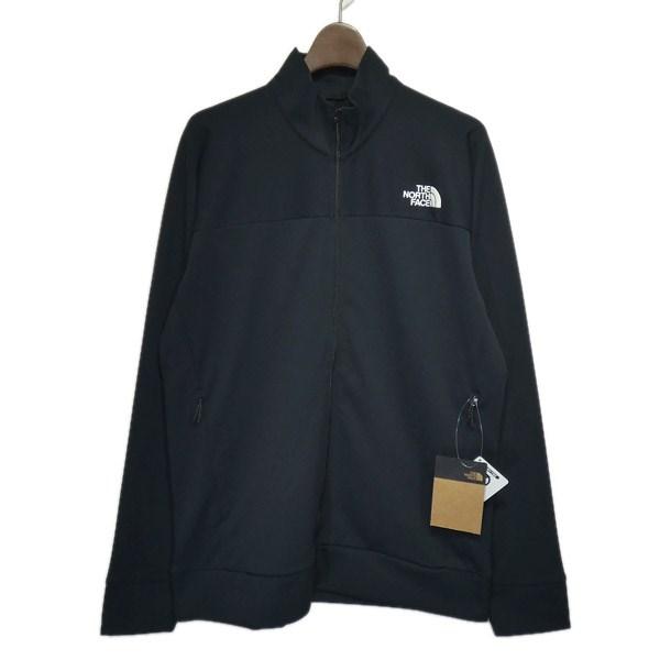 【中古】THE NORTH FACE 「Anytime Jersey Jacket」ジップジャケット ブラック サイズ:L 【210320】(ザノースフェイス)