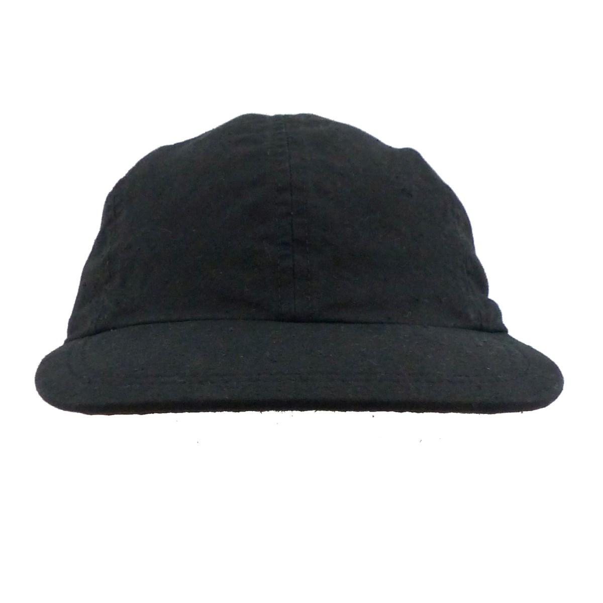 【中古】KIJIMA TAKAYUKI×スタイリスト私物 ORGANIC COTTON CAP ブラック サイズ:S 【210320】(キジマタカユキ×スタイリストシブツ)