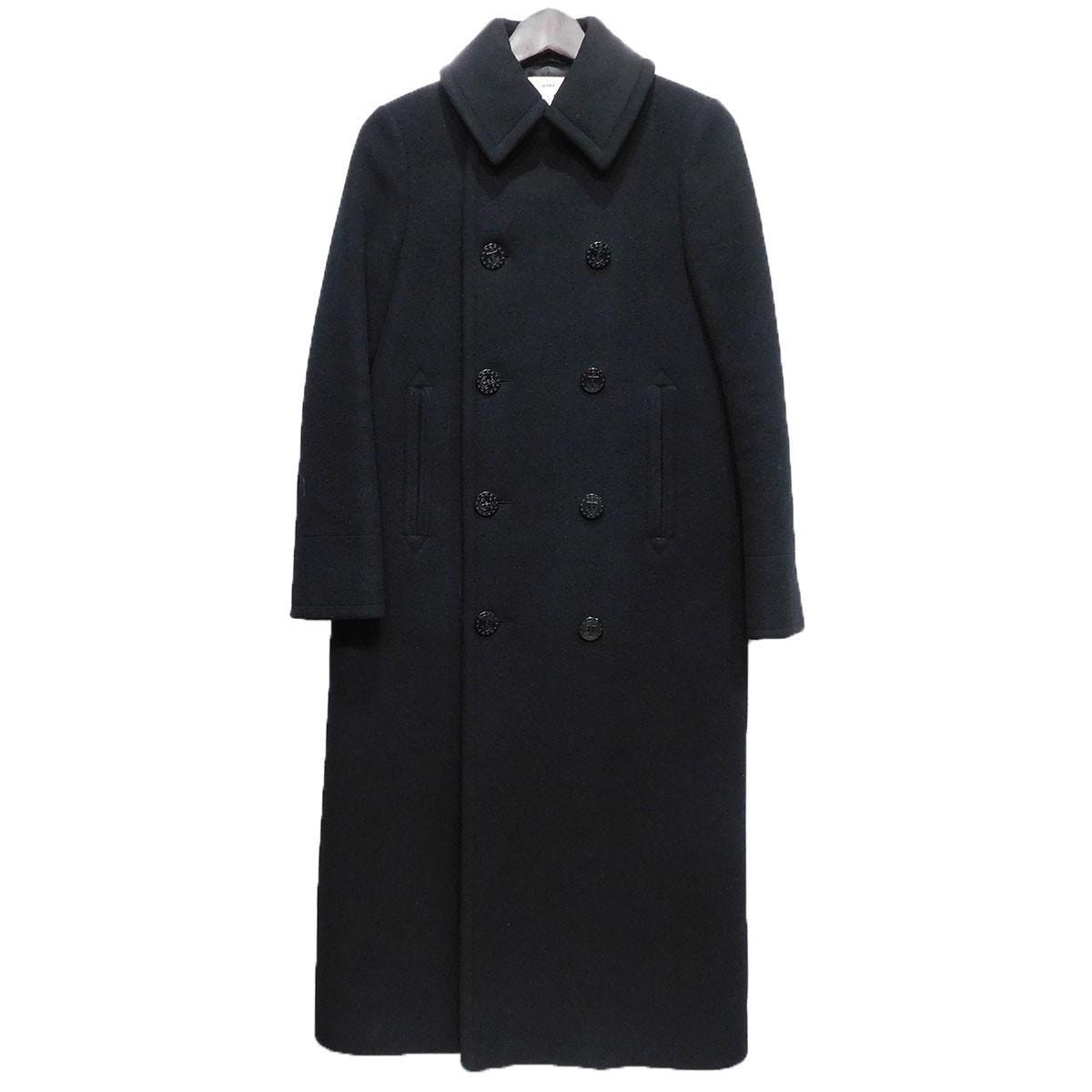 【中古】HYKE 15AW ロングPコート ブラック サイズ:1 【210320】(ハイク)