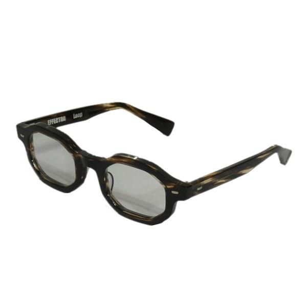 【中古】EFFECTOR 「LOOP」眼鏡 ブラウン レンズ:クリア サイズ:- 【220320】(エフェクター)