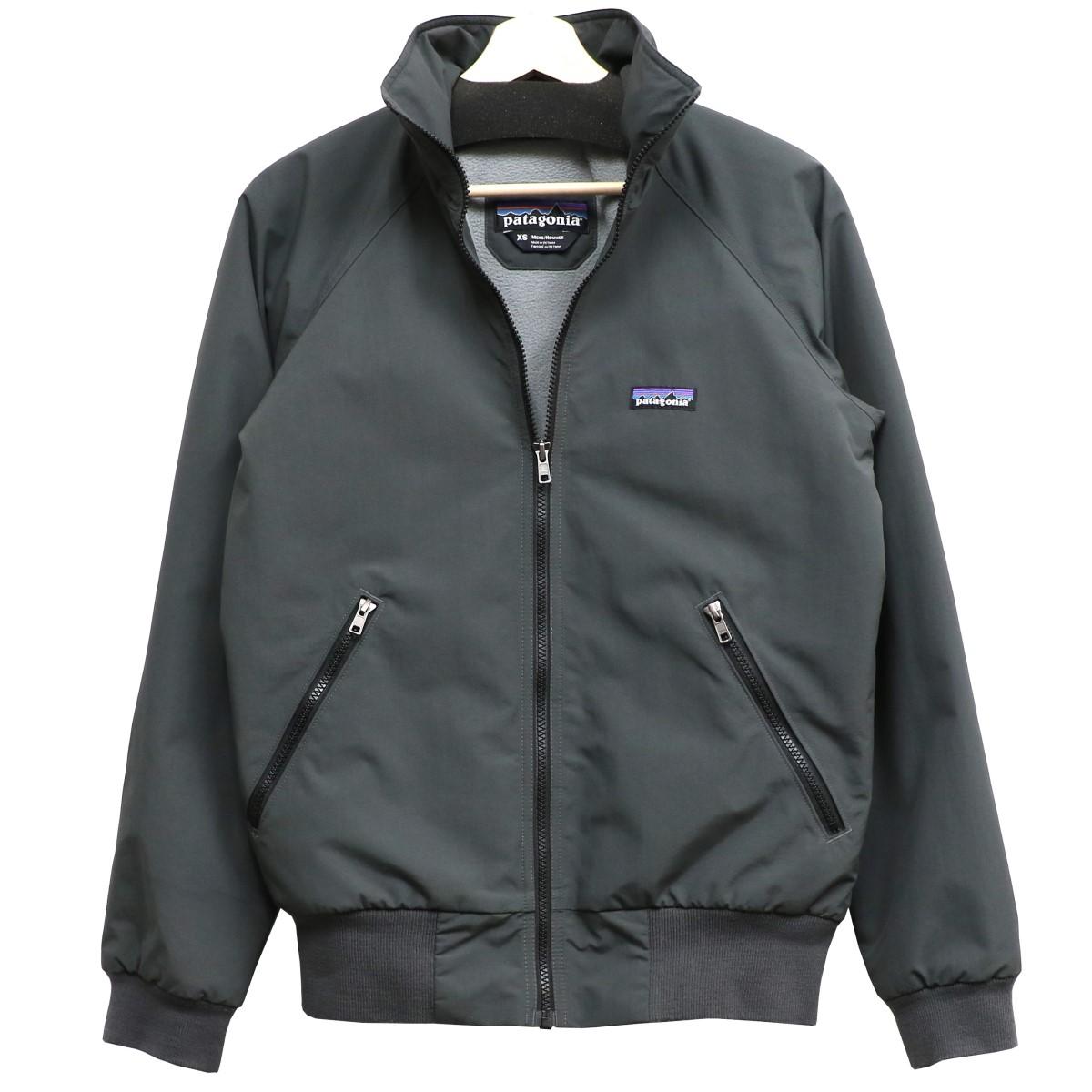 【中古】patagonia Shelled Synchilla Jacketシンチラジップアップジャケット グレー サイズ:XS 【220320】(パタゴニア)