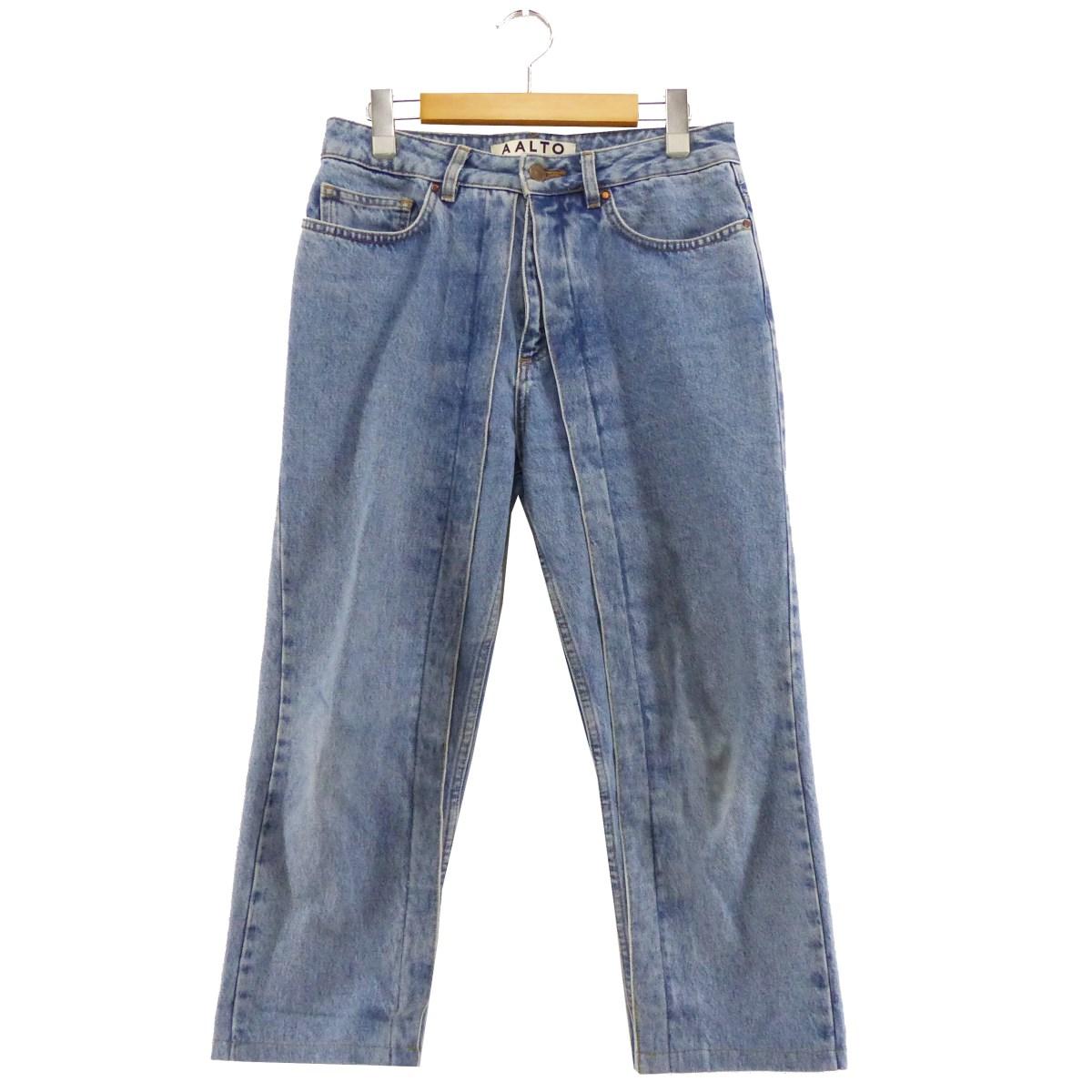 【中古】AALTO Klassische Jeans インディゴ サイズ:36 【230320】(アールト)