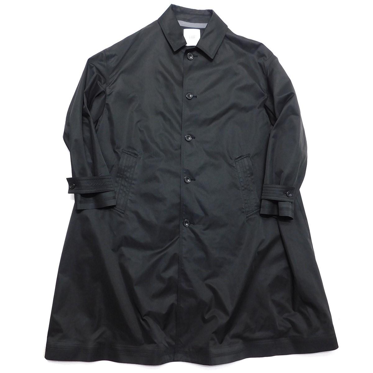 【中古】CLANE HOMME BAL COLLAR OVER SIZE COAT バルカラーオーバーサイズコート ブラック サイズ:1 【230320】(クラネオム)