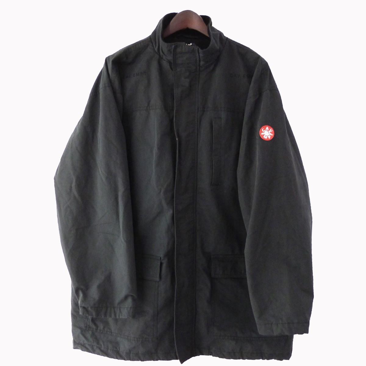 【中古】C.E オーバーサイズミリタリージャケット ブラック サイズ:M 【240320】(シーイー)