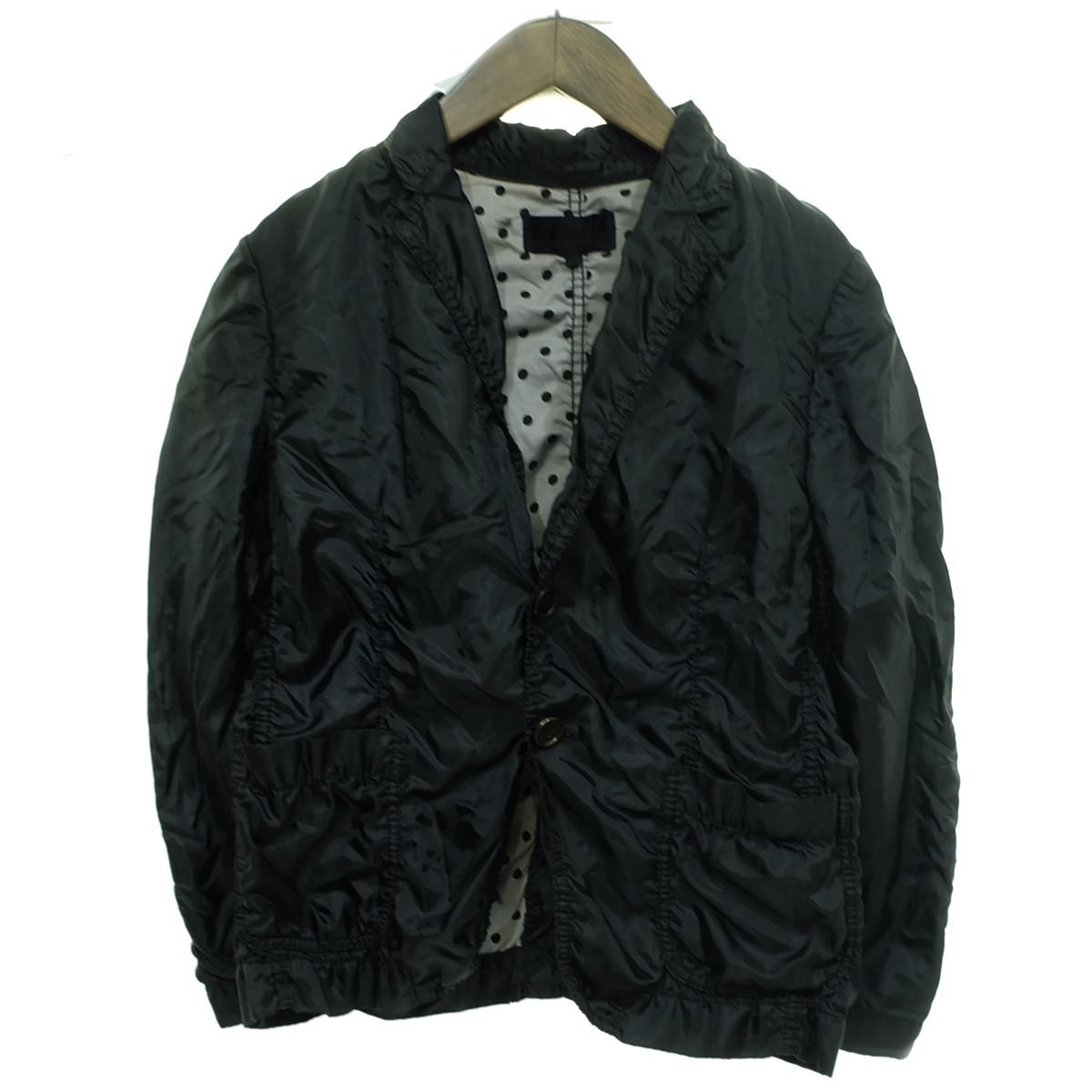 【中古】tricot COMME des GARCONS 16AW 縮絨ジャケット ブラック サイズ:M 【250320】(トリココムデギャルソン)