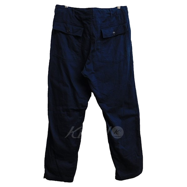 Engineered Garments 2018SSFATIGUE PANT ネイビー サイズ L240320エンジmN0w8n