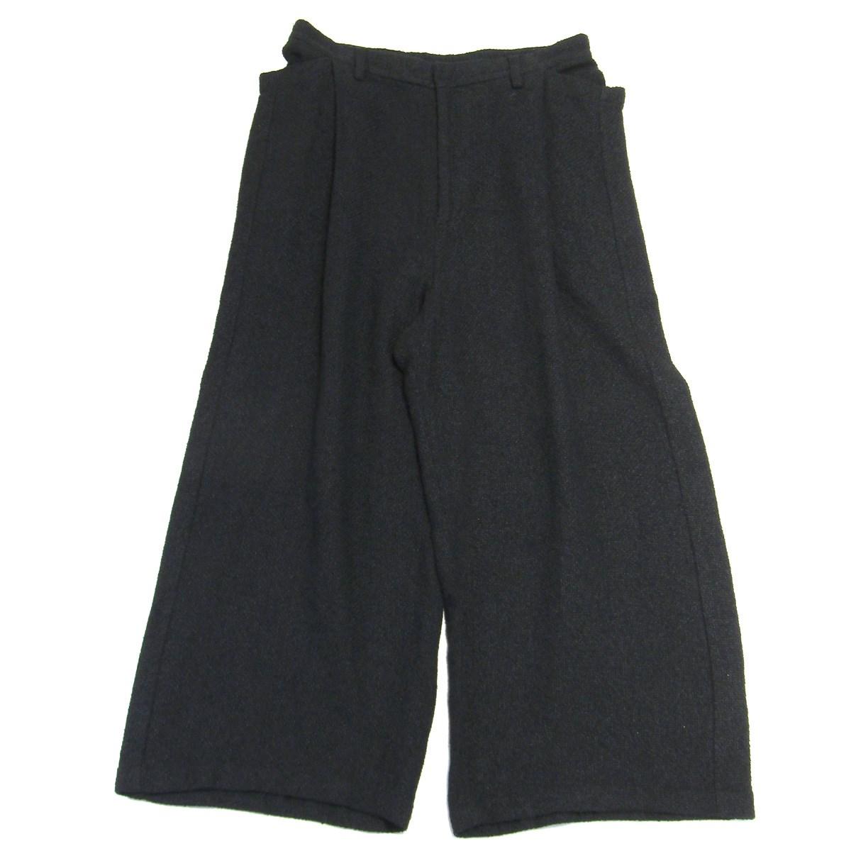 【中古】Edwina Horlイージーワイドパンツ ブラック サイズ:M