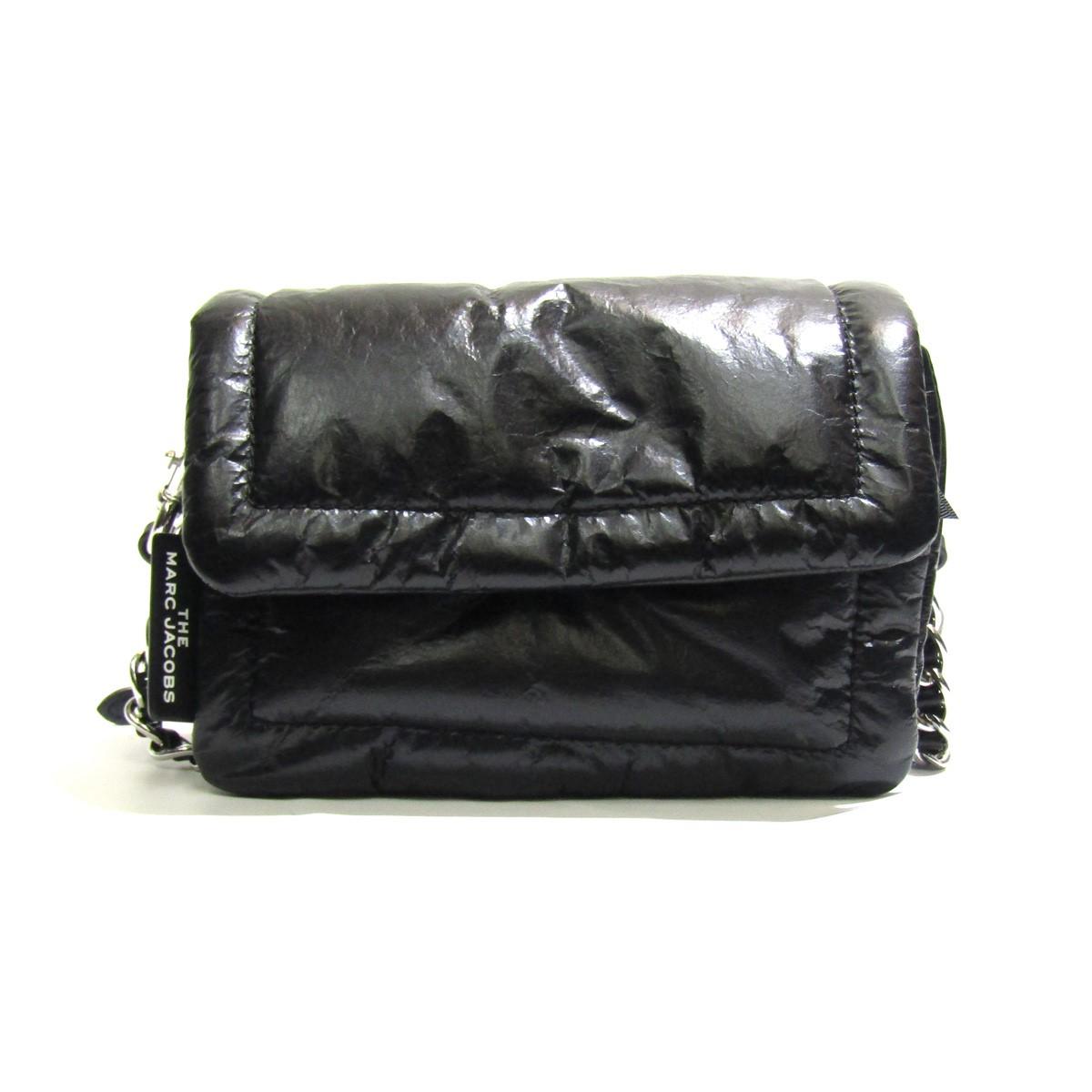 【中古】MARC JACOBS 2020SS The Pillow Bag Mini Pillow Bag/ショルダーバッグ ブラック サイズ:- 【250320】(マークジェイコブス)