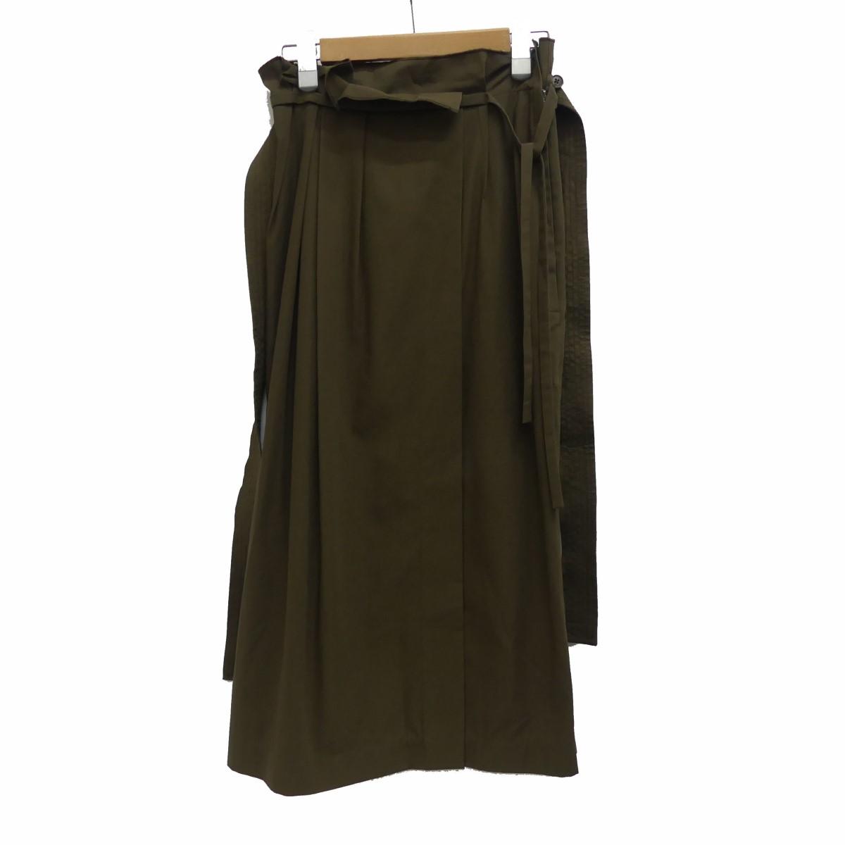 【中古】3.1 phillip lim ロングスカート カーキ サイズ:0 【280320】(スリーワンフィリップリム)
