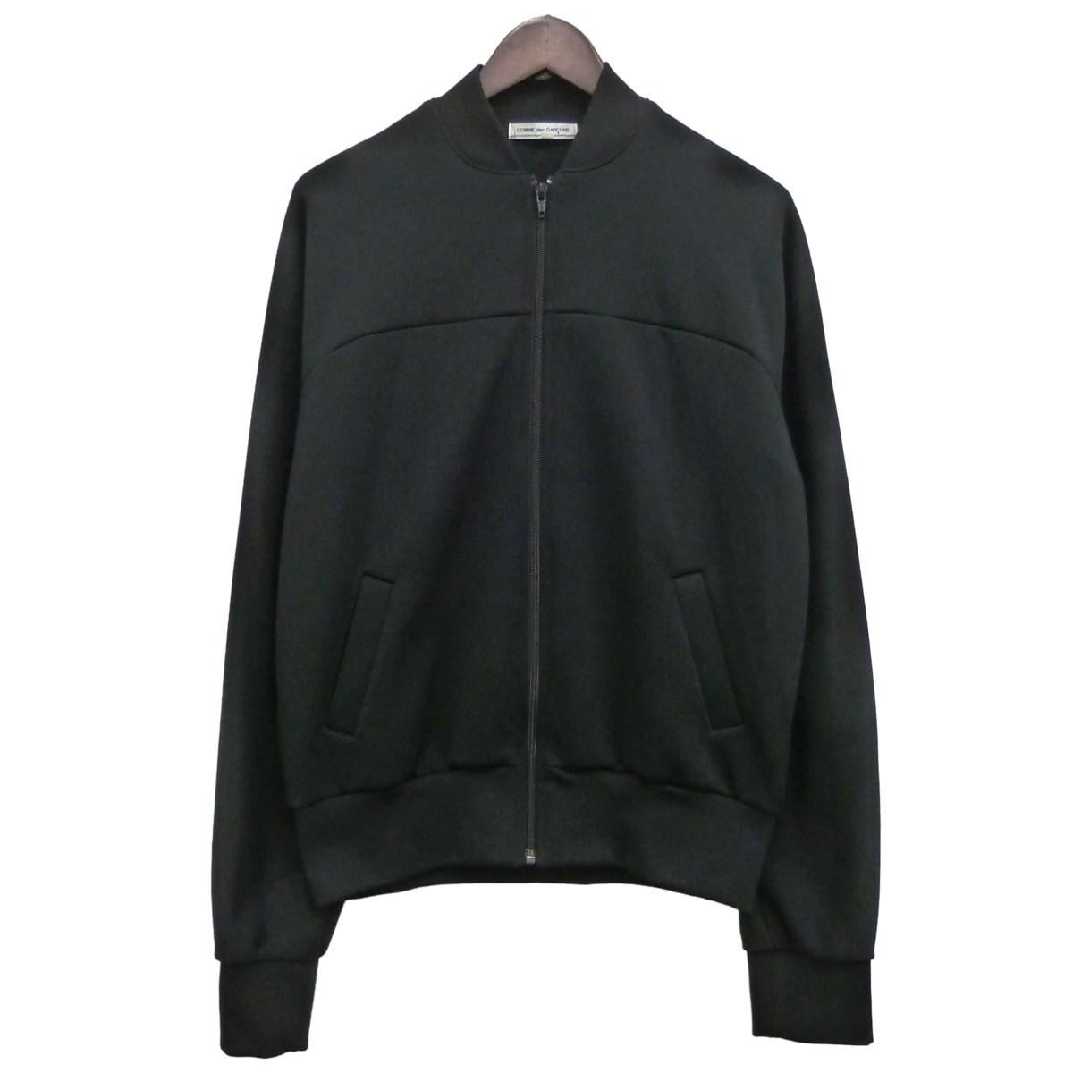 【中古】COMME des GARCONS ポリエステルトラックジャケット ブラック サイズ:L 【280320】(コムデギャルソン)