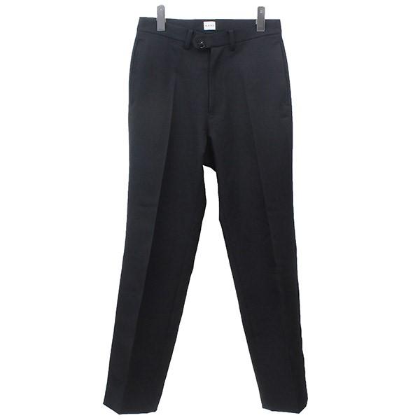 【中古】KAIKO THE PREST スタプレパンツ ブラック サイズ:1 【280320】(カイコ)