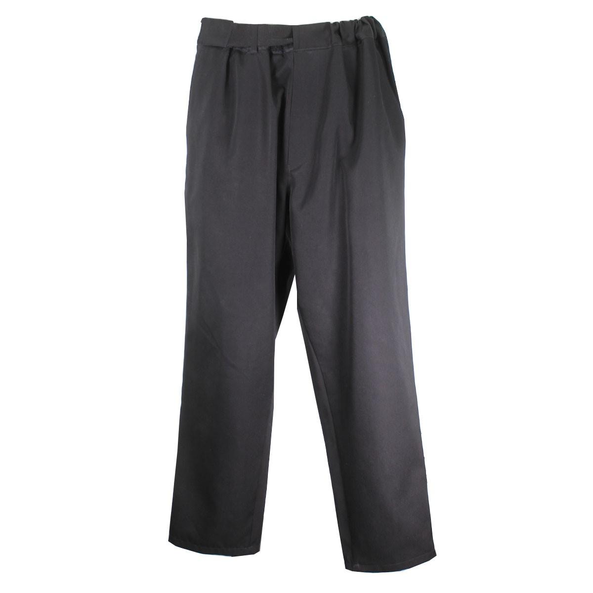 【中古】GRAPHPAPER 19AW SELVAGE WOOL COOK PANT コックパンツ ブラック サイズ:F 【280320】(グラフペーパー)