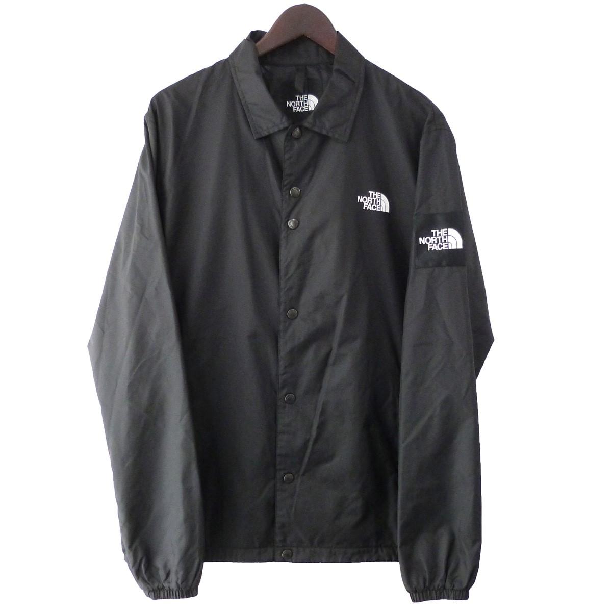 【中古】THE NORTH FACE 「THE COACH JACKET」 コーチジャケット ブラック サイズ:XL 【290320】(ザノースフェイス)
