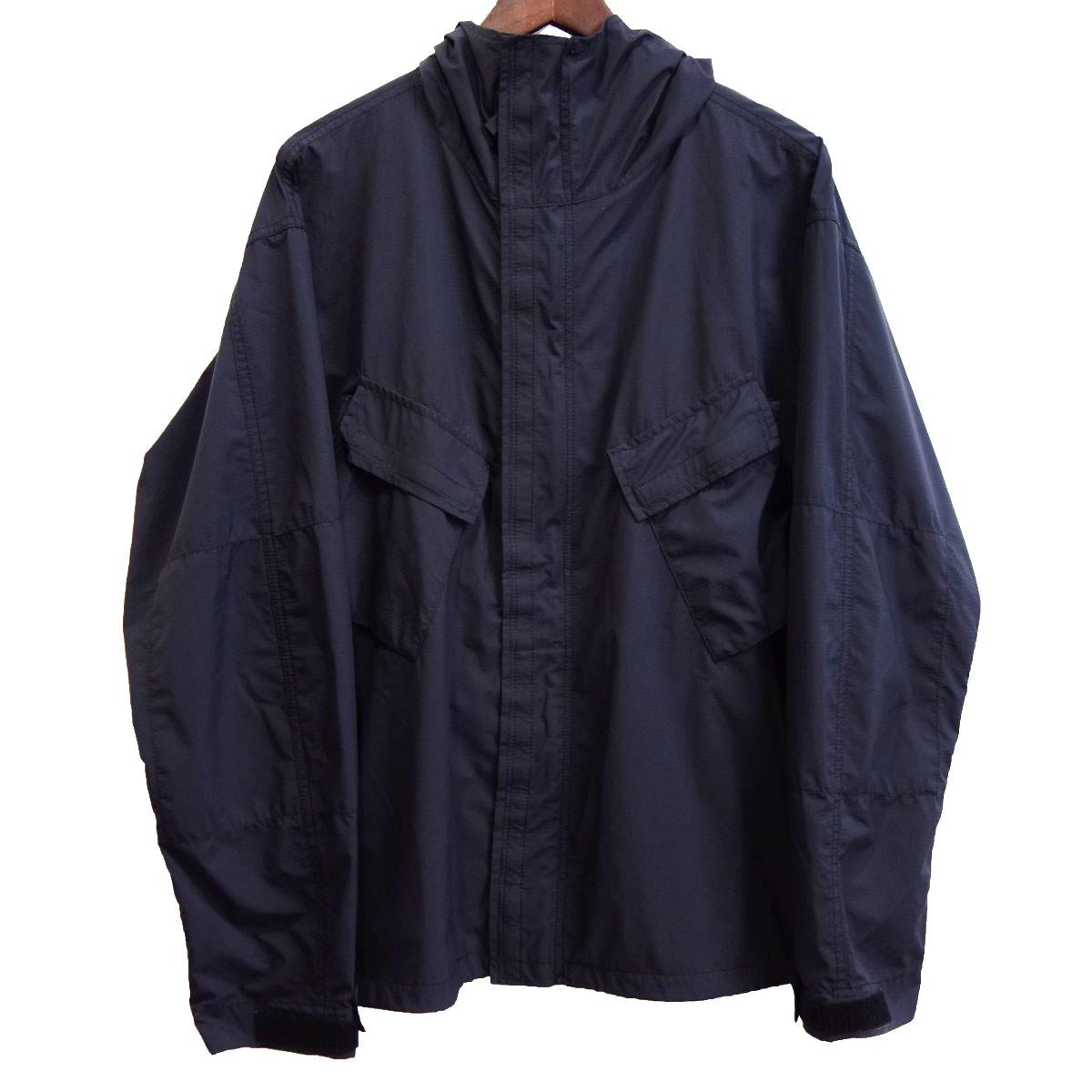 【中古】N.HOOLYWOOD 17SS フード付きブルゾン ブラック サイズ:38 【290320】(エヌハリウッド)