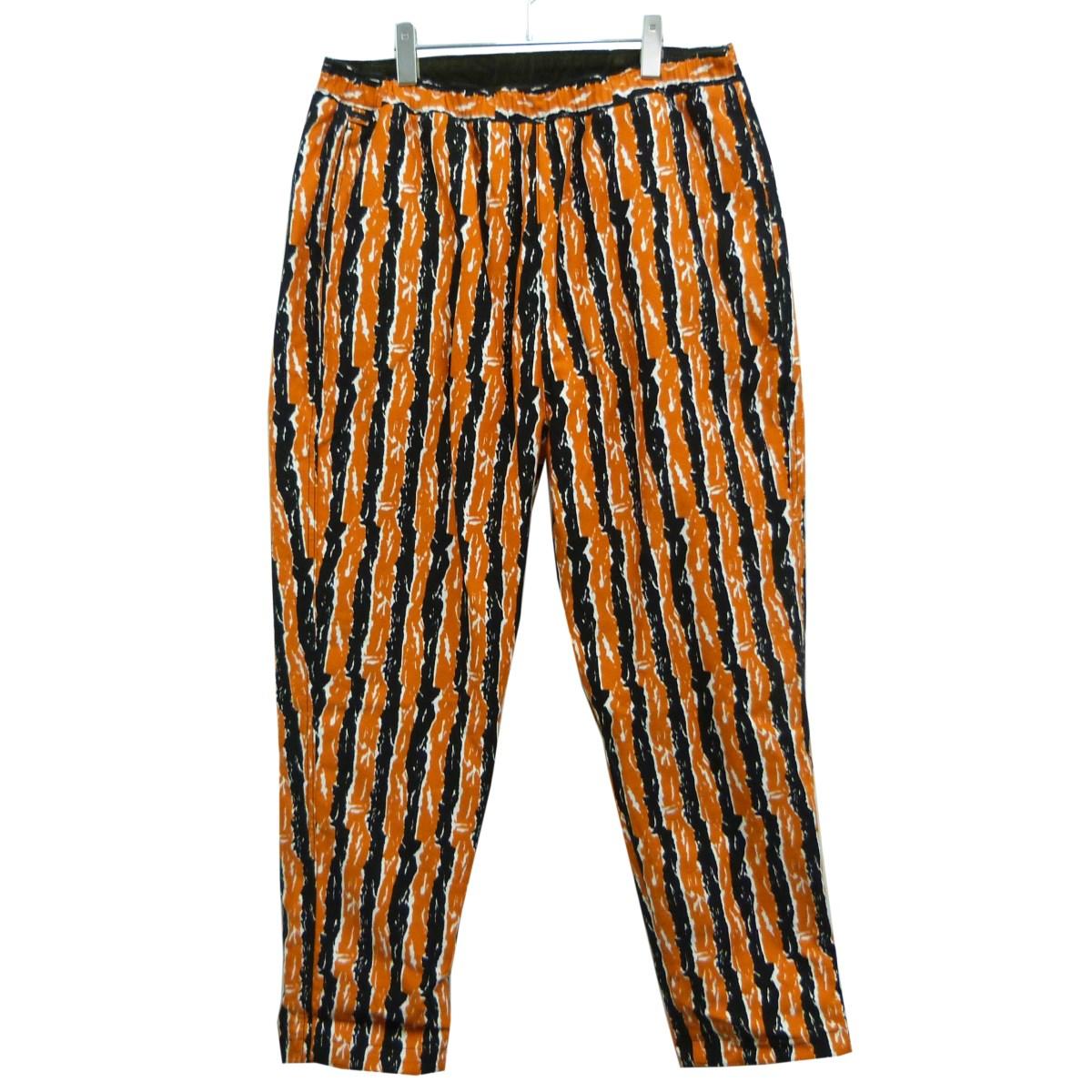 【中古】THREE FACE リバーシブルパンツ オレンジ×カーキ サイズ:L 【300320】(スリー フェイス)
