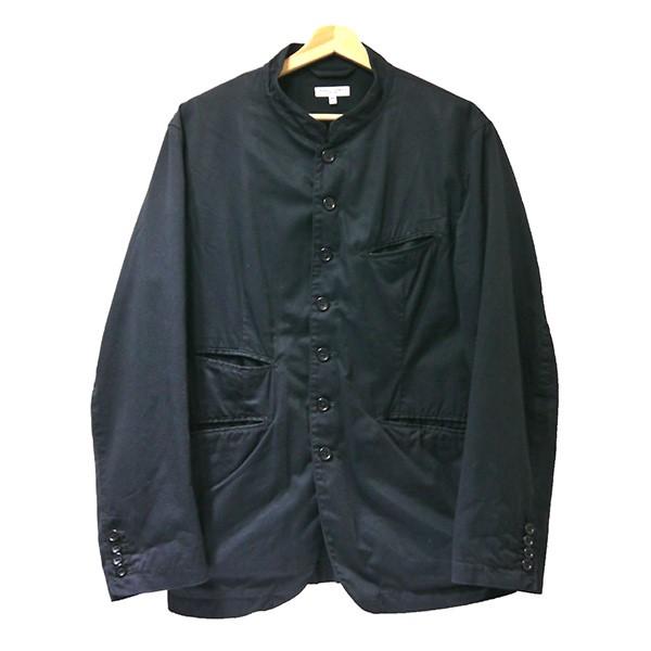 【中古】Engineered Garments スタンドカラージャケット ネイビー サイズ:M 【300320】(エンジニアードガーメンツ)