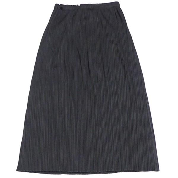 【中古】PLEATS PLEASE プリーツスカート ブラック サイズ:3 【300320】(プリーツプリーズ)