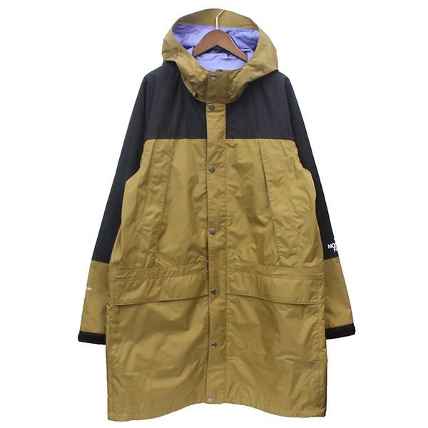 【中古】THE NORTH FACE Mountain Raintex Coat マウンテンレインテックスコート カーキ サイズ:XXL 【010420】(ザノースフェイス)