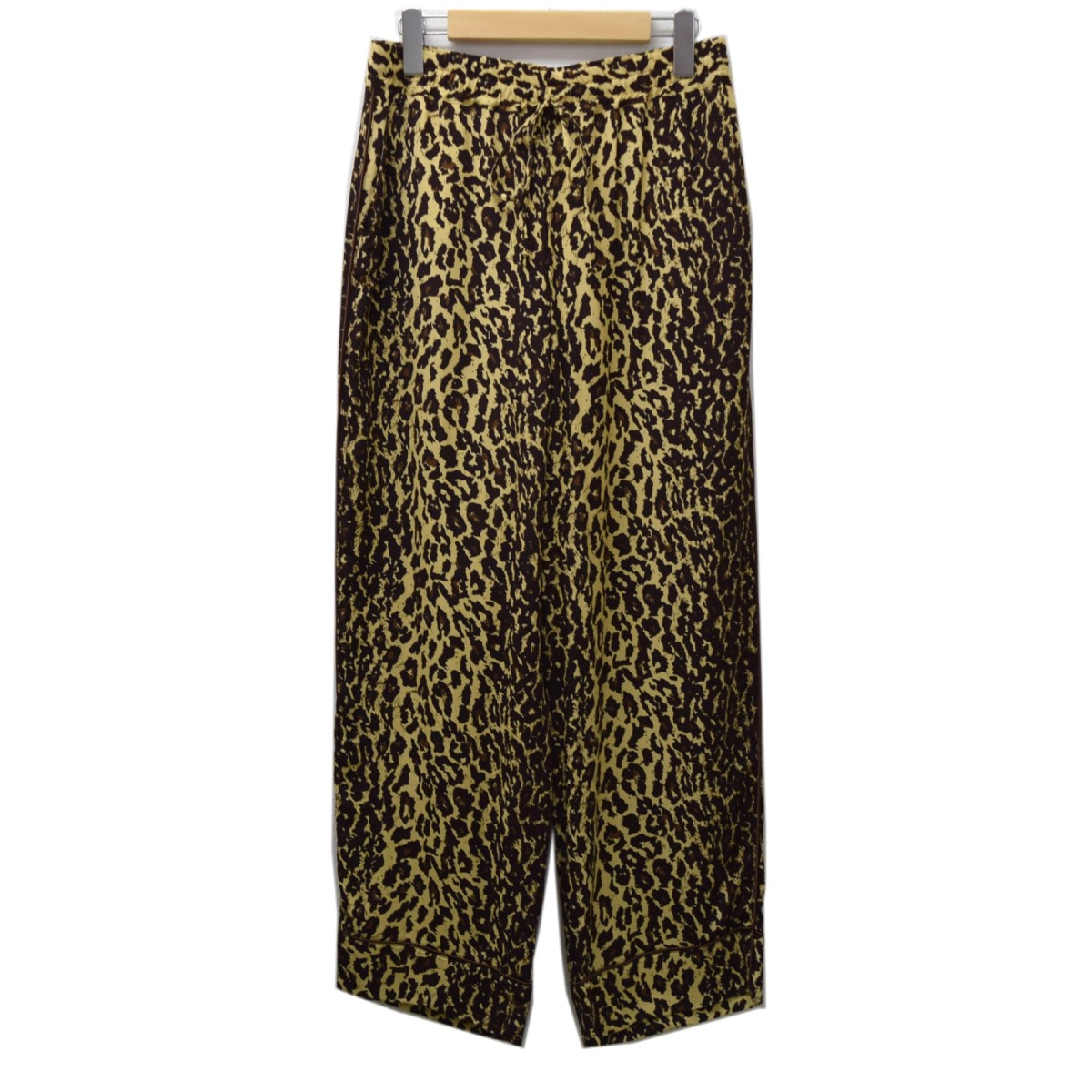 【中古】JANE SMITH レオパードパジャマパンツ イエローxブラウン サイズ:38 【010420】(ジェーンスミス)