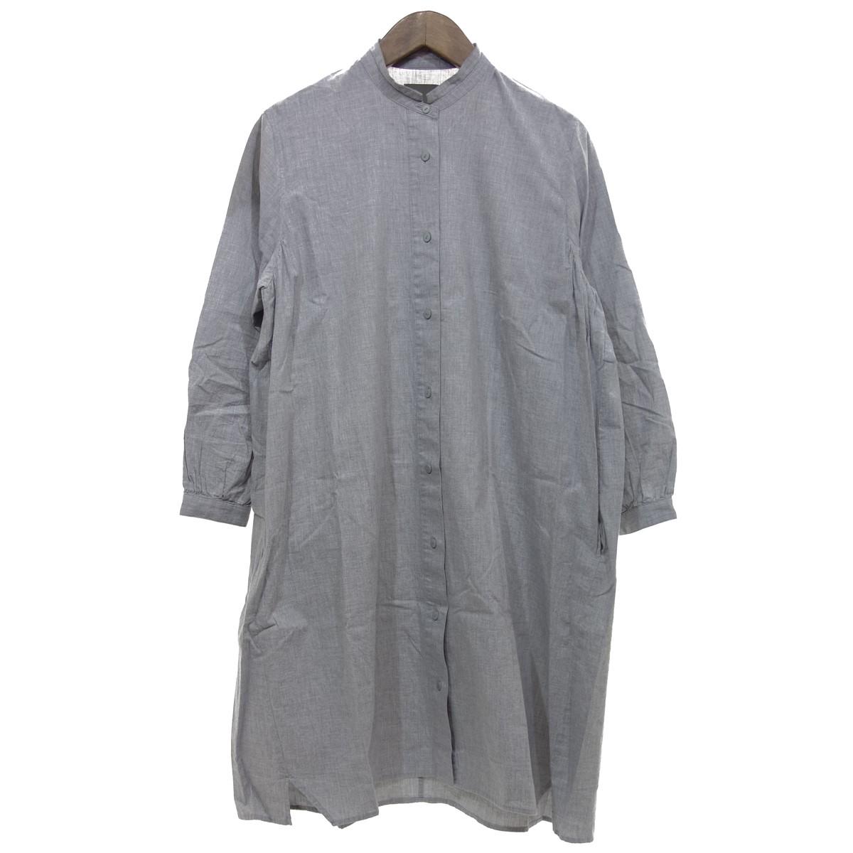 【中古】オローネ スロロロングシャツ グレー サイズ:Free 【020420】(オローネ)